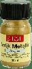 Antiek Metallic Verf 30ml, Lichtgoud