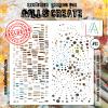 AALL & Create 6'x4' (15x15cm) Stencil #13