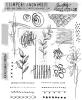 "Tim Holtz Cling Stamps 7""X8.5"" Mini Media Marks"