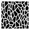 Templates 6x6 Giraffe Print