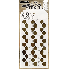 "Tim Holtz Layered Stencil 4.125""X8.5"" Shifter Hex"