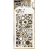 "Tim Holtz Layered Stencil 4.125""X8.5"" Patchwork Hex"
