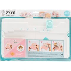 We R Memory Keepers Explosion Card Punch Board