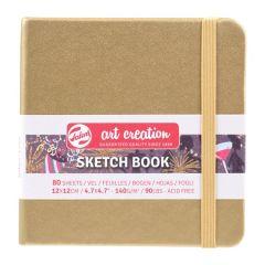 Talens Art Creation Schetsboek Witgoud 12 x 12 cm 140 g 80 Vellen