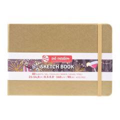 Talens Art Creation Schetsboek Witgoud 21 x 14.8 cm 140 g 80 Vellen