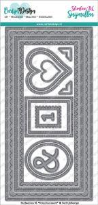 Carlijn Design Snijmallen DL Slimline kaart