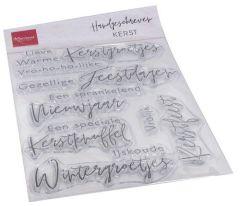 Marianne D Clear Stamps Handgeschreven - Kerst (NL)
