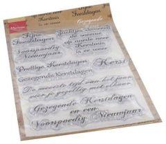 Marianne D Clear Stamps Gezegende Kerst (NL)
