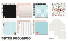 Dutch Doobadoo Crafty Kit XL Spring Scrapbook 473.005.002 30,5x30,5cm