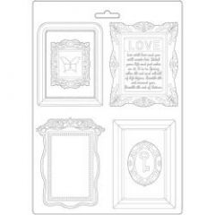 Stamperia Soft Mould A4 Atelier Frames