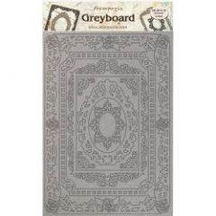 Stamperia Greyboard A4 Atelier Frames