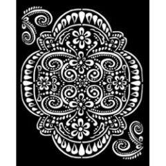 Stamperia Thick Stencil 20x25cm Amazonia Lace