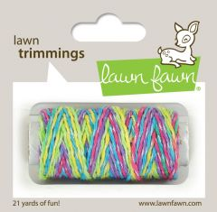 Lawn Fawn lawn trimmings unicorn tail sparkle cord