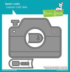 Lawn Fawn custom craft dies magic iris camera add-on