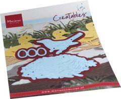 Marianne Design Creatable Tiny's vogelnest 110x160mm