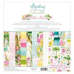 Mintay Papers 12 x 12 Paper Set - Better Times