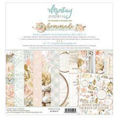 Mintay 12 X 12 PAPER SET - HOMEMADE