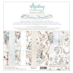 Mintay 12 X 12 PAPER SET - PRECIOUS MOMENT