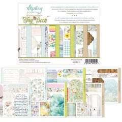 Mintay Papers 6 x 8 Tag Book - elements for precise cutting