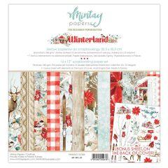 Mintay 12 X 12 PAPER SET - WINTERLAND
