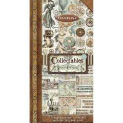 Stamperia Voyages Fantastiques 6x12 Inch Paper Pack