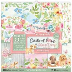 Stamperia Circle of Love 12x12 Inch Maxi Paper Pack