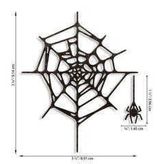 Sizzix Thinlits Die Set - Spider Web 2PK Tim Holtz
