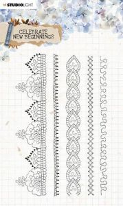 Studio Light Clear Stamp Celebrate new beginnings nr.517 A5