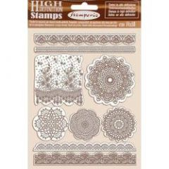 Stamperia Natural Rubber Stamp Passion Lace