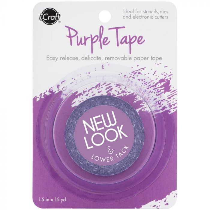 iCraft Removable Purple Tape 1.5