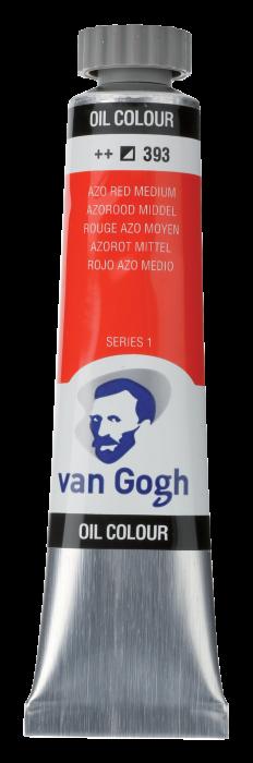 VAN GOGH OLIEVERF AZO RED MEDIUM Tube 20ml