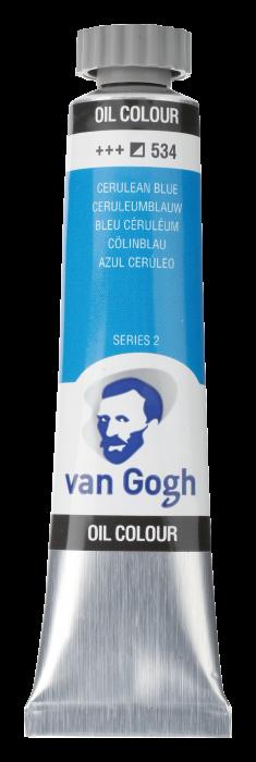 VAN GOGH OLIEVERF CERULEAN BLUE Tube 20ml