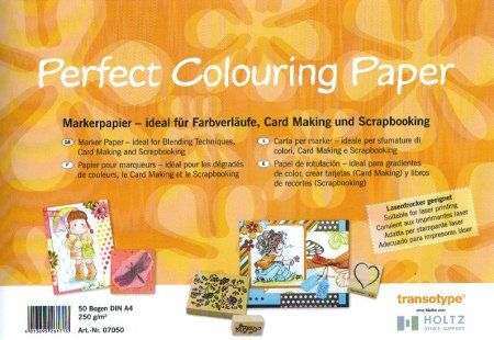 Perfect Colouring Paper 50 vel