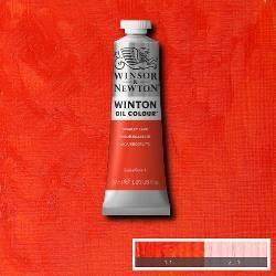 Winsor & Newton Winton Oil Colour 37ml Scarlet Lake