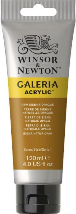 Winsor & Newton Galeria Acrylic Colour 120ml Raw Sienna Opaque