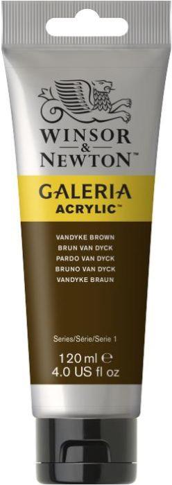 Winsor & Newton Galeria Acrylic Colour 120ml Vandyke Brown