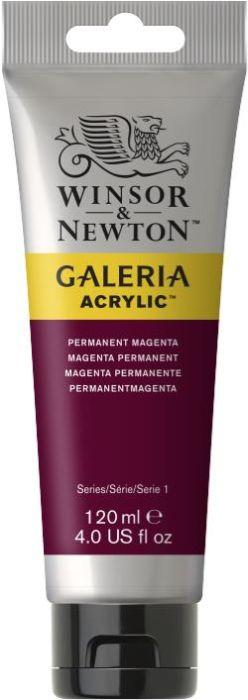 Winsor & Newton Galeria Acrylic Colour 120ml Permanent Magenta