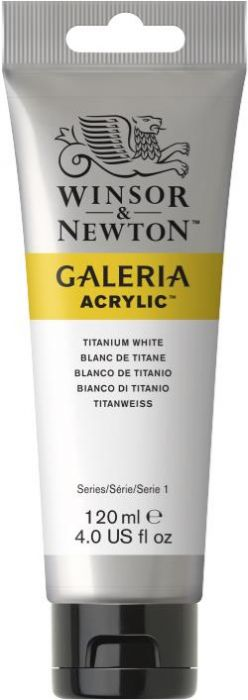 Winsor & Newton Galeria Acrylic Colour 120ml Titanium White