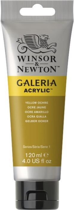 Winsor & Newton Galeria Acrylic Colour 120ml Yellow Ochre