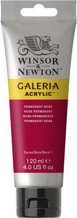 Winsor & Newton Galeria Acrylic Colour 120ml Permanent Rose