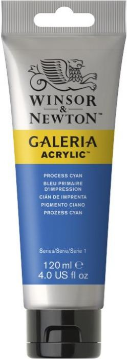 Winsor & Newton Galeria Acrylic Colour 120ml Process Cyan