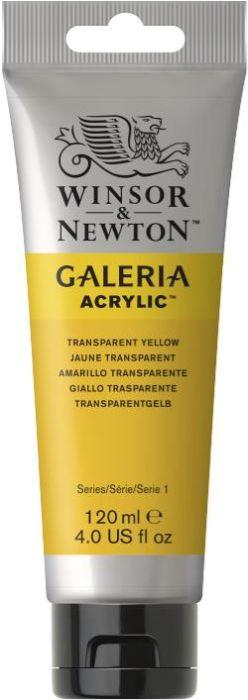 Winsor & Newton Galeria Acrylic Colour 120ml Transparent Yellow