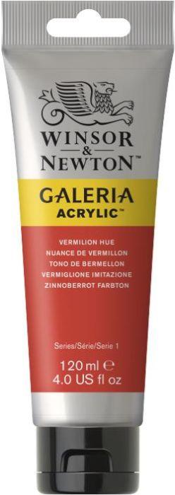 Winsor & Newton Galeria Acrylic Colour 120ml Vermilion Hue