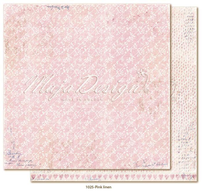 Maja Design Denim & Girls - Pink linen