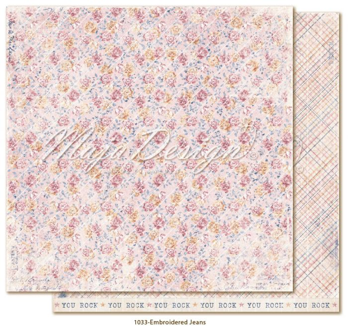 Maja Design Denim & Girls - Embroidered Jeans