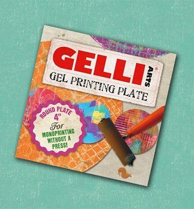 Gelli Printing Plates rond