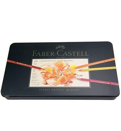 Faber Castell Polychromos assorti blik 120 stuks