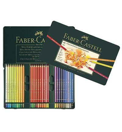Faber Castell Polychromos Metalen etui a 60st.