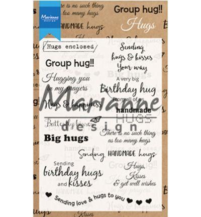 Marianne Design stempel Hugs UK