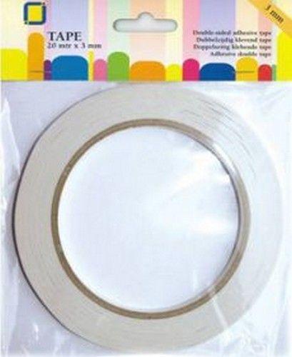 Dubbelzijdig plakband 3mm